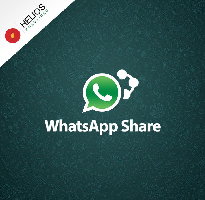 Product share on WhatsApp