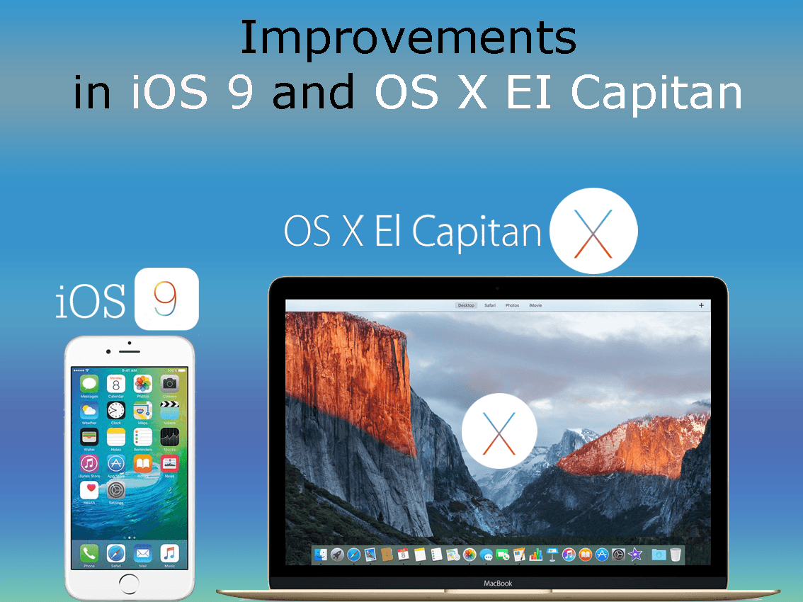 iOS 9 and OS X EI Capitan