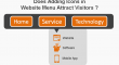 website menu icon
