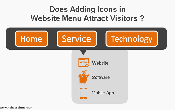website menu icon