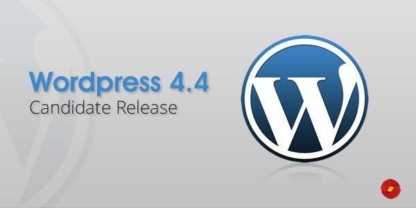 WordPress 4.4 RC