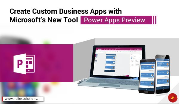 Custom Business Apps - Microsoft Power Apps