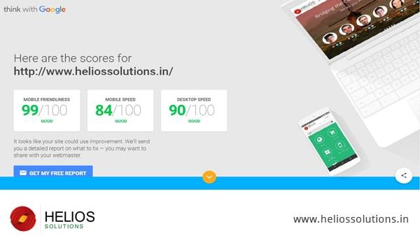 Helios Website Score