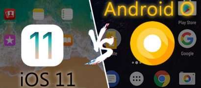 ios 11 vs android o