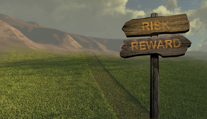 Resolve to weigh risk versus reward