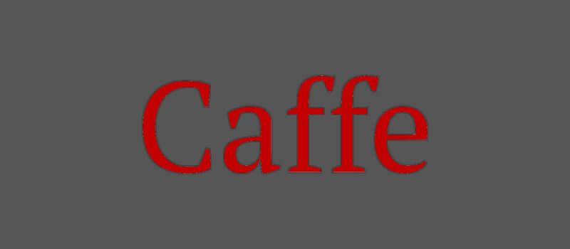 Caffe-Deep-Learning-Framework