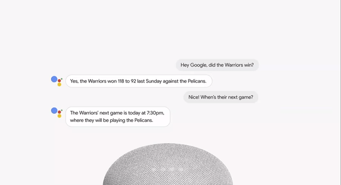Google assistant continued conversation