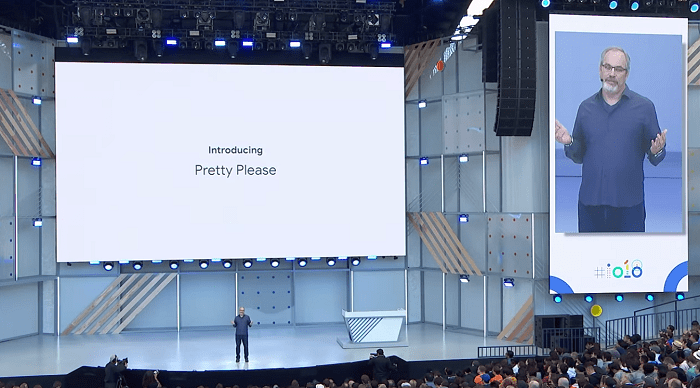 Google assistant helping kids to be polite
