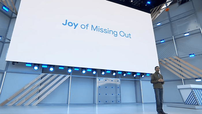 The JOMO concept by Google