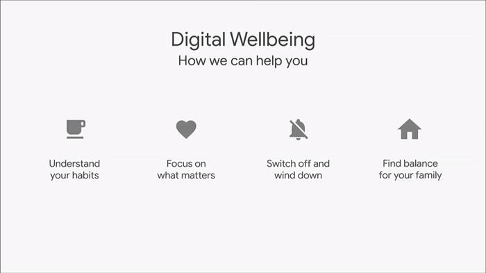 Google features that ensure digital wellbeing