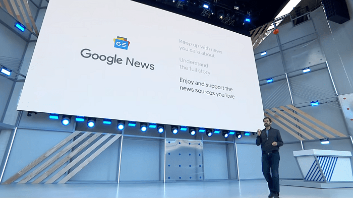 A new and personalised Google News app