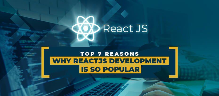Top 7 Reasons Why ReactJS Development
